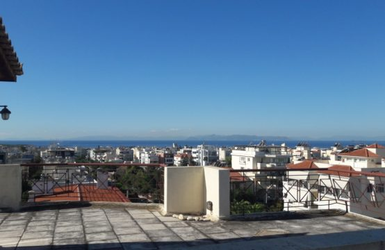 Penthouse in Glyfada with roof garden