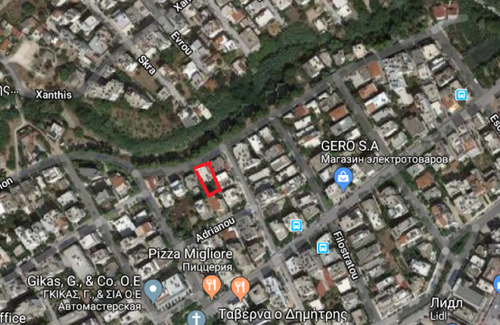 Land plot in Palaio Faliro