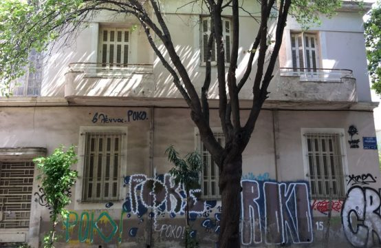 Ground floor apartment in the heart of Athens
