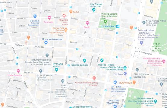 Land plot in Athens center