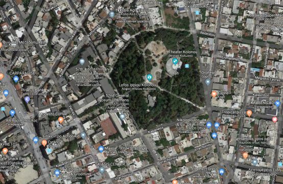 Land plot in Kolonos area